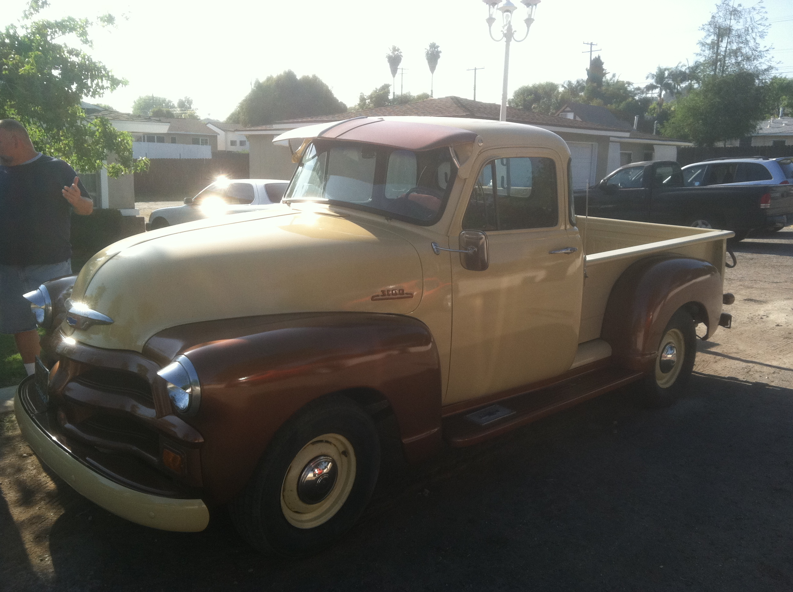The 54 Chevy Truck Garage Woolery 1954 Pickup