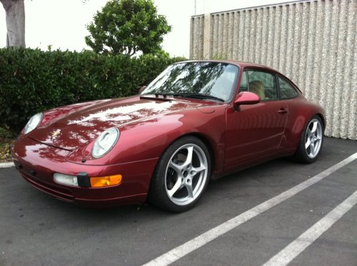 Porsche 993 with new MY02s